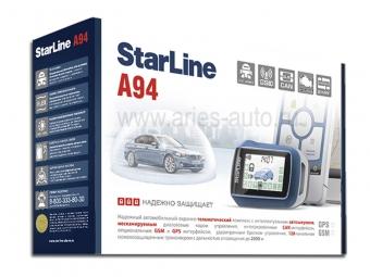 Автосигнализация  с автозапуском StarLine A94 GSM