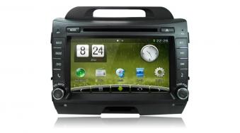 Штатное головное устройство Kia Sportage R Android carpad duos DT5210