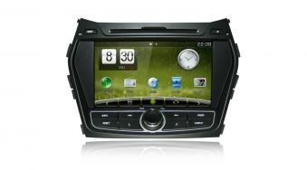 Штатное головное устройство   Hyundai IX45 / Santa Fe DM Carpad Duos на Android 4.1 / WINCE 6.2