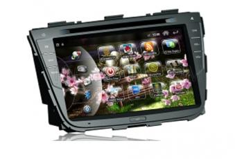 Штатное головное устройство i-force для KIA  SORENTO NEW 2013 / сенсорное управление