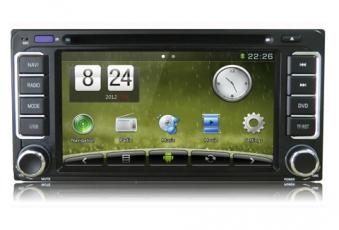 Штатное головное устройство carpad для Toyota WinCE+Android 4.1(универсальное)