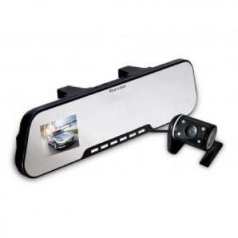 Видеорегистратор в зеркале с камерой заднего вида D600