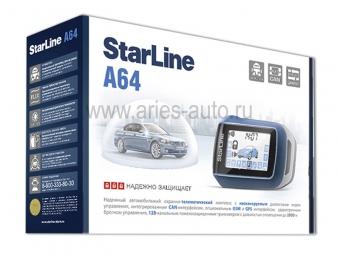 Автосигнализация StarLine A64