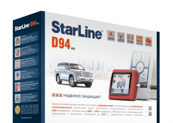 Автосигнализация  с автозапуском StarLine D94 GSM/GPS