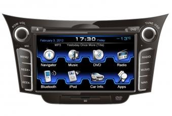 Штатное головное устройство Intro CHR-2495 для Hyundai I30 2012+