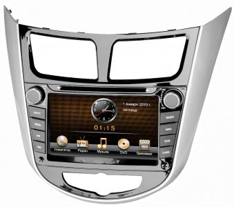 Штатное головное устройство Intro CHR-2211 SL для Hyundai Solaris