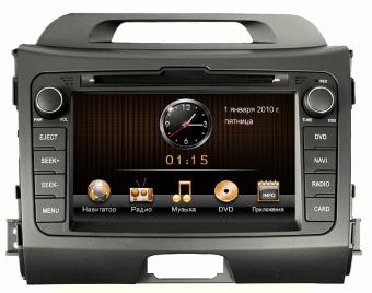 Штатное головное устройство Intro CHR-1821 SP Kia sportage 2010+