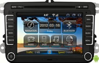 Штатная магнитола Intro AHR-8686 на Android для Volkswagen Passat B6. B7, CC. Golf 5-6, Amarok, Multivan