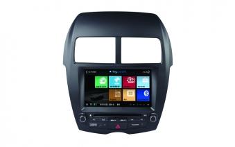 Штатное головное устройство MyDean 3026 для автомобилей Mitsubishi ASX (2010-2012) / Peugeot 4008 (2012-) / Citroen C4 Aircross (2012-) без штатного монитора.